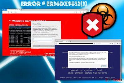 ERROR # ER36dx9832(3)