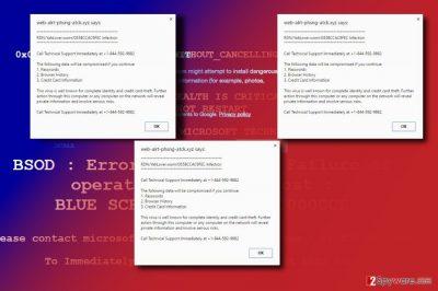 The image displaying Error Virus - trojan