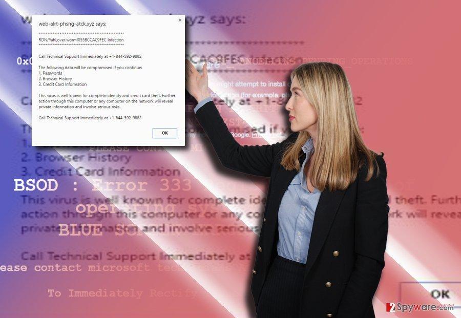 Error Virus - trojan scam example