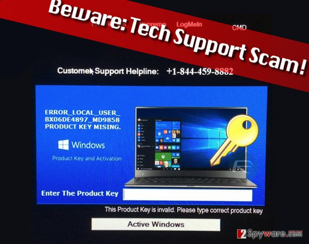 ERROR_LOCAL_USER_BX06DE4897_MD9858 scam