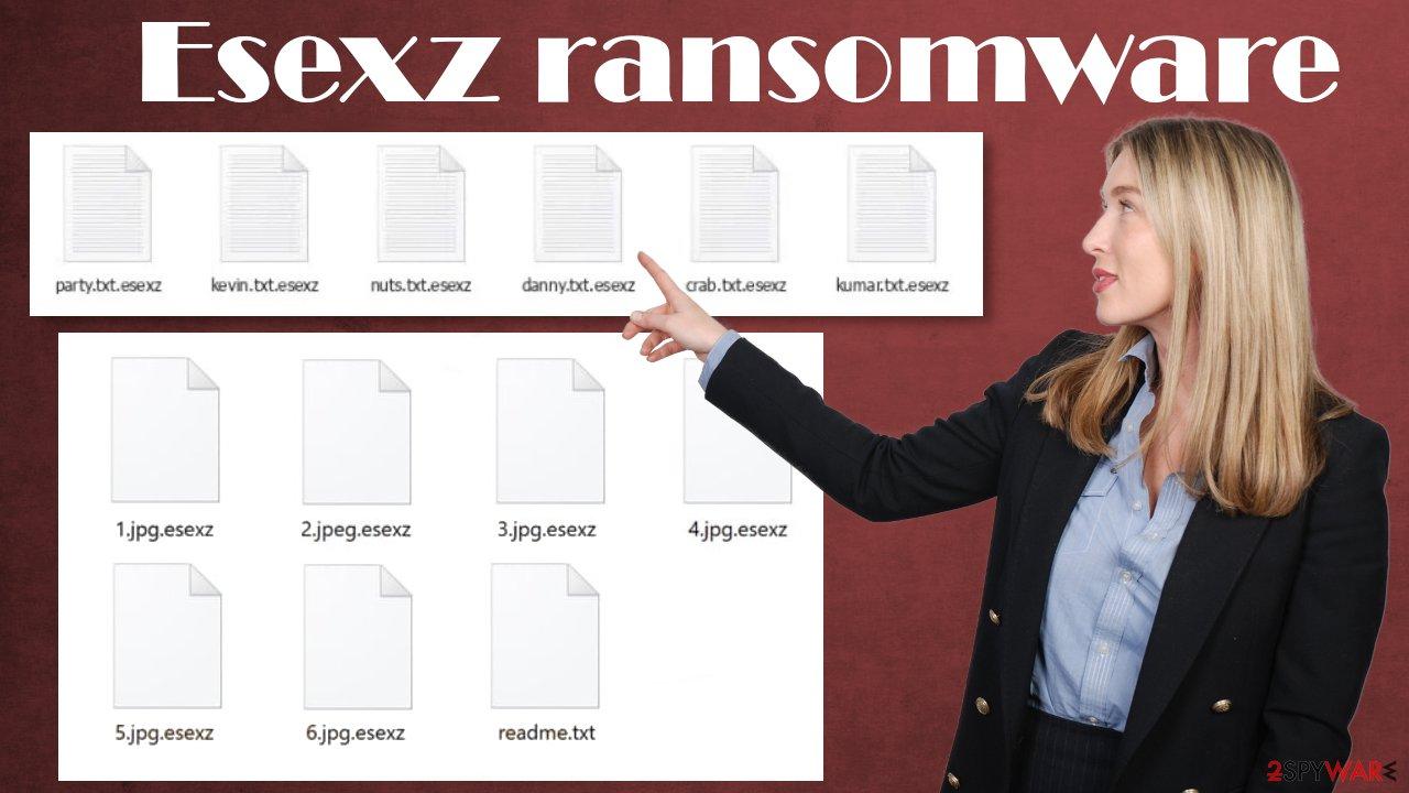 Esexz ransomware virus