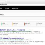 Eshield Safe Search search