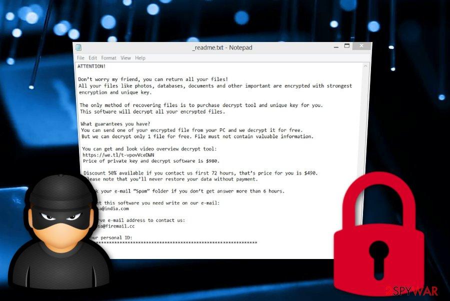 Etols ransomware virus