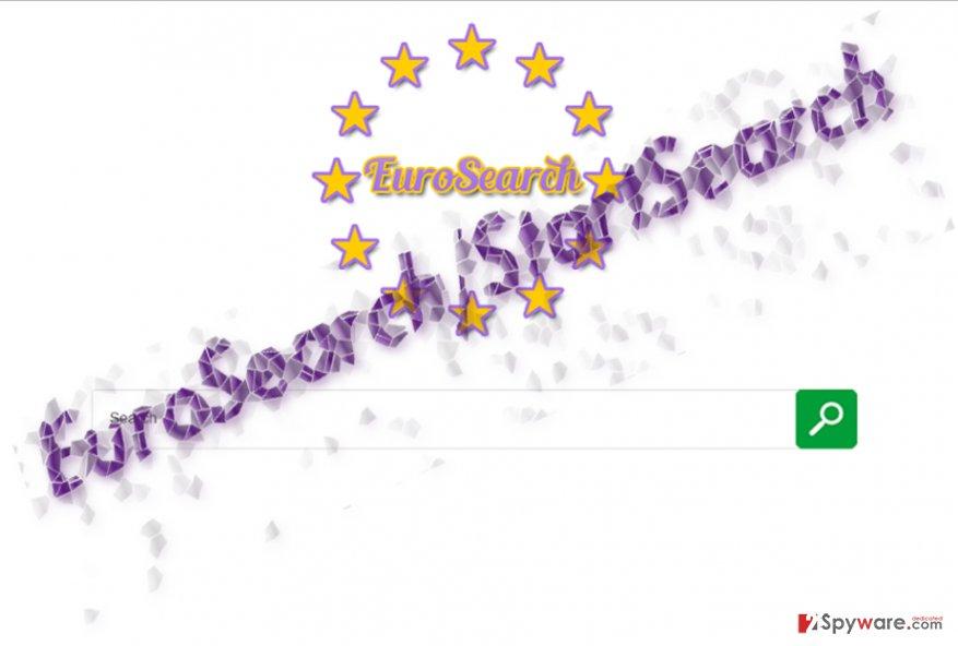 The image illustrating Euro-search.net virus