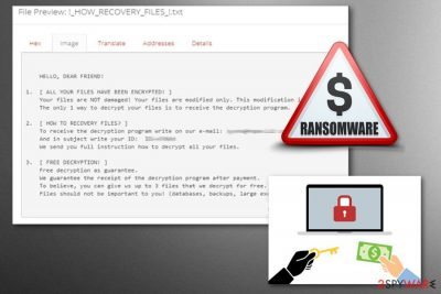 Everbe2.0 ransomware is a virus that has three previous versions.