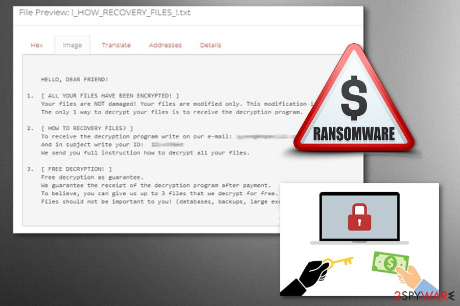 Everbe 2.0 ransomware is a virus that has three previous versions.