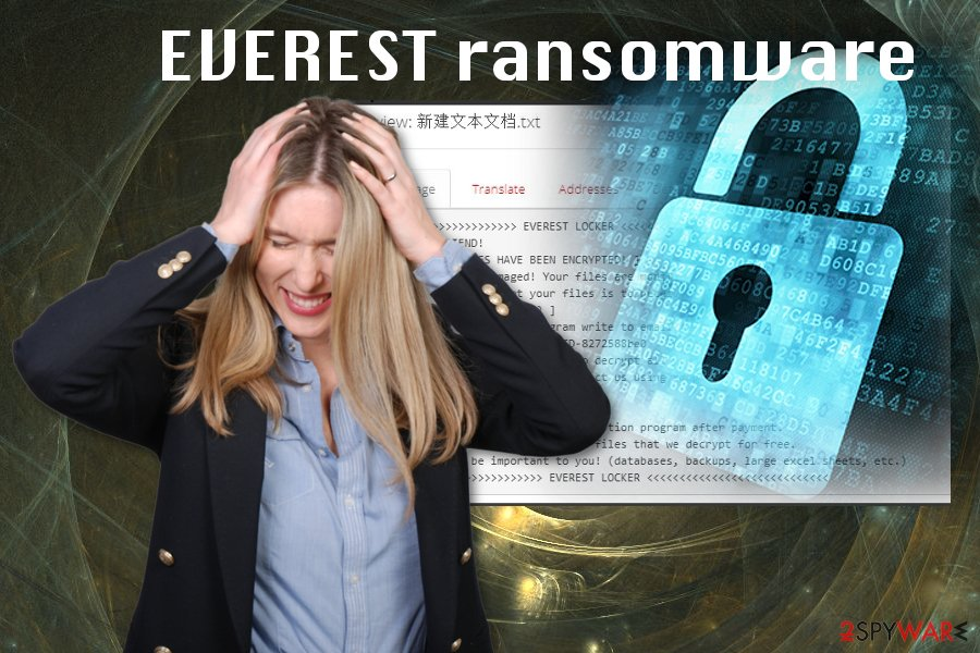 EVEREST ransomware virus