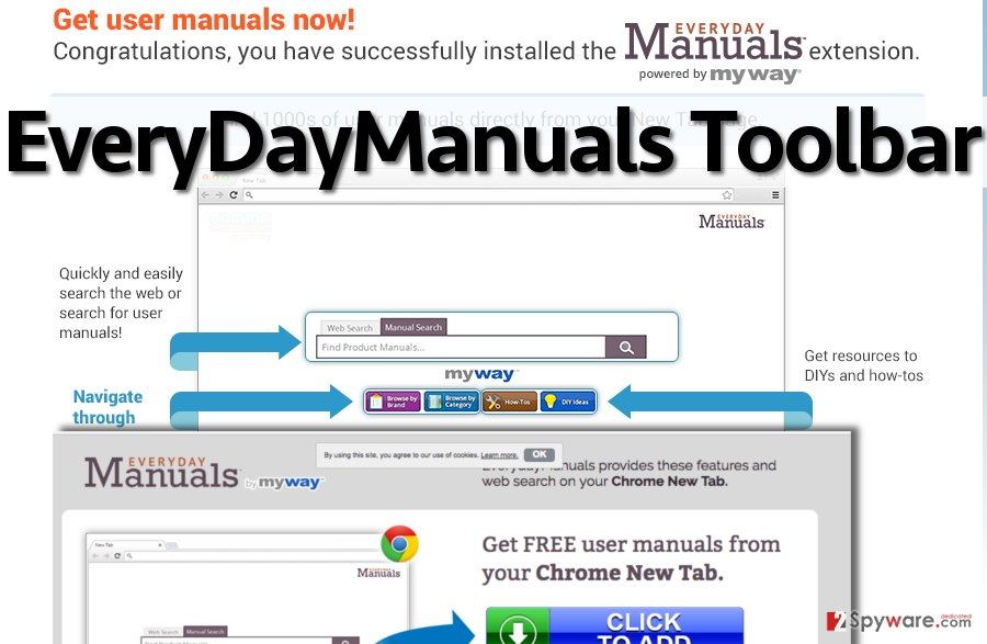Screenshot of EveryDayManuals