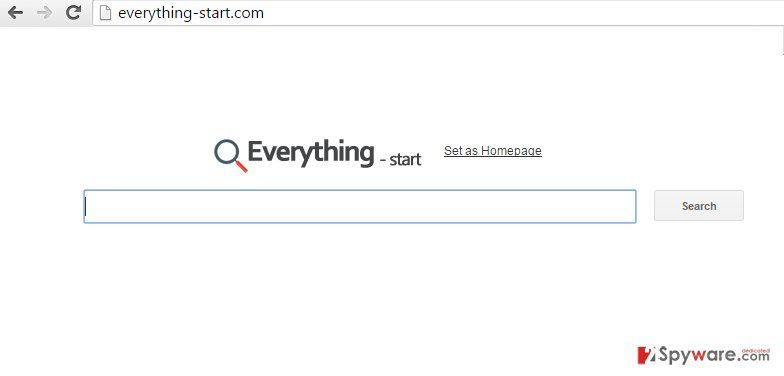 Everything-start.com redirect