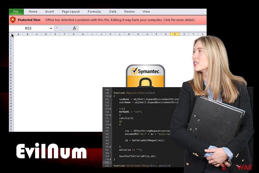 EvilNum Trojan