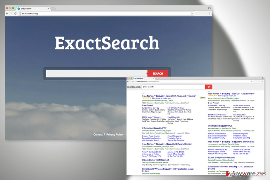 The image of ExactSearch.org