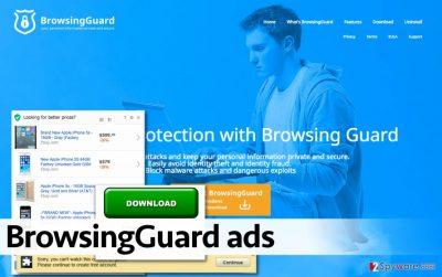 BrowsingGuard adware displays ads