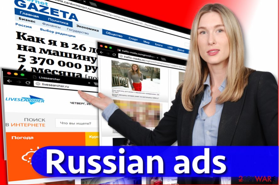 Russian ads virus