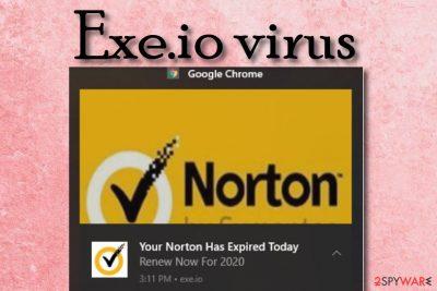 Exe.io virus