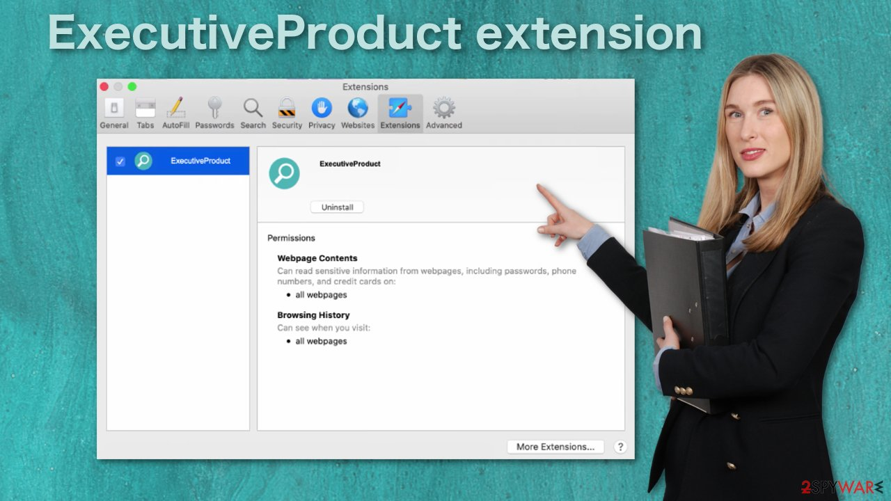 ExecutiveProduct extension