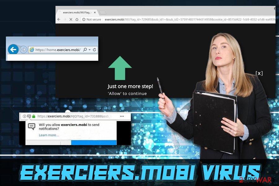 Exerciers.mobi adware