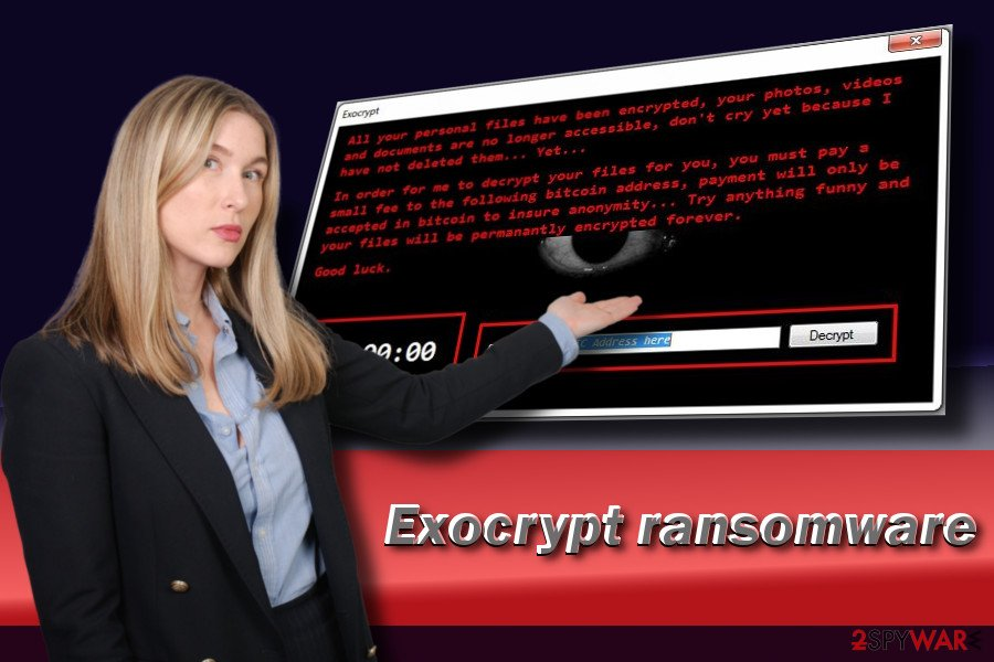 Exocrypt virus demands a ransom in Bitcoins