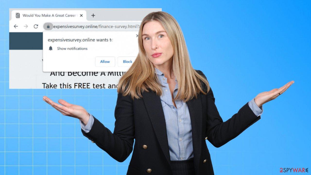 Expensivesurvey.online ads