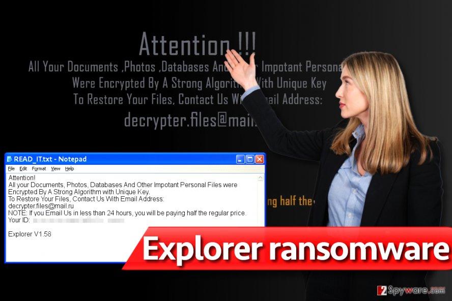 Explorer ransomware