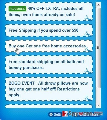 Ext Coupons ads