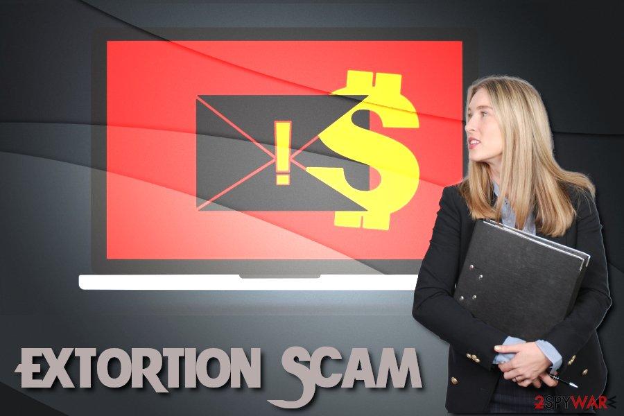 Extortion Scam virus