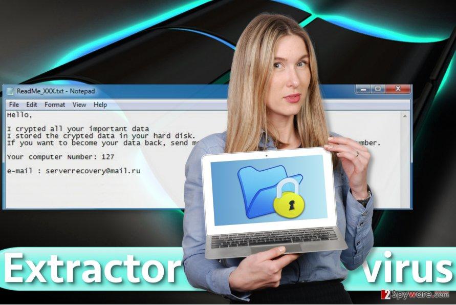 Extractor virus