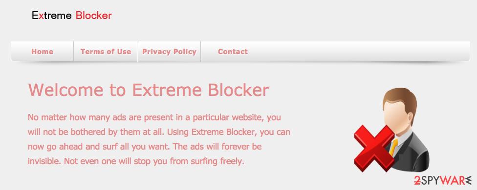 Extreme Blocker virus
