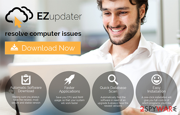 EZ Software Updater snapshot