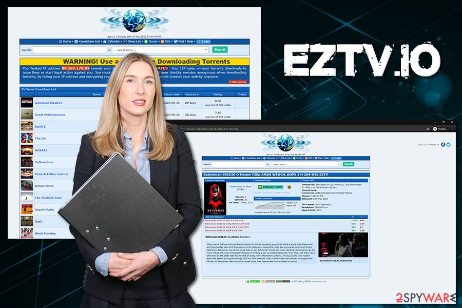 Eztv.io torrents
