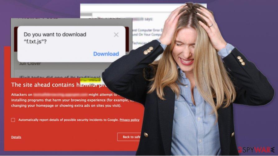F.txt.js virus