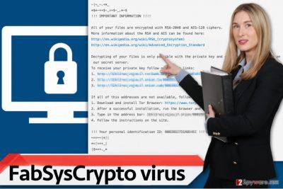 FabSysCrypto virus