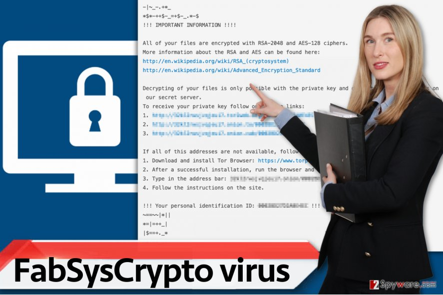 FabSysCrypto virus
