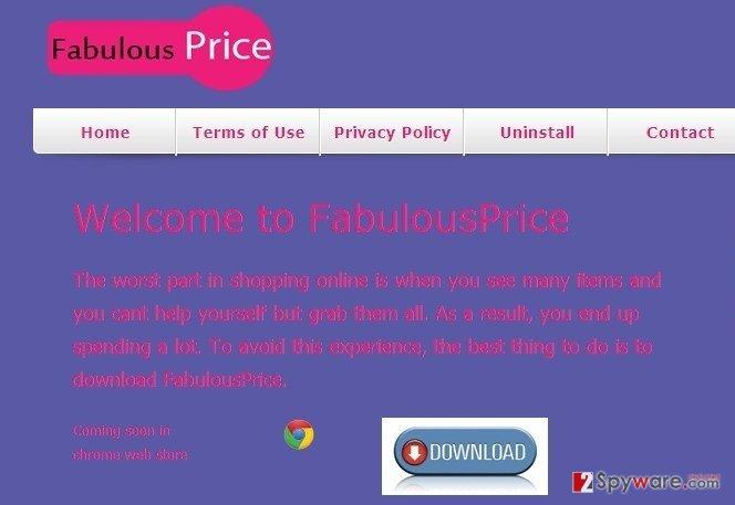 FabulousPrice snapshot