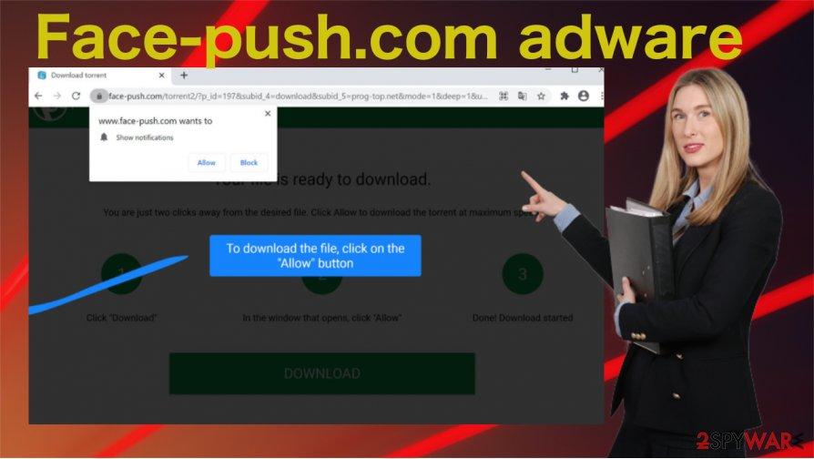 Face-push.com adware