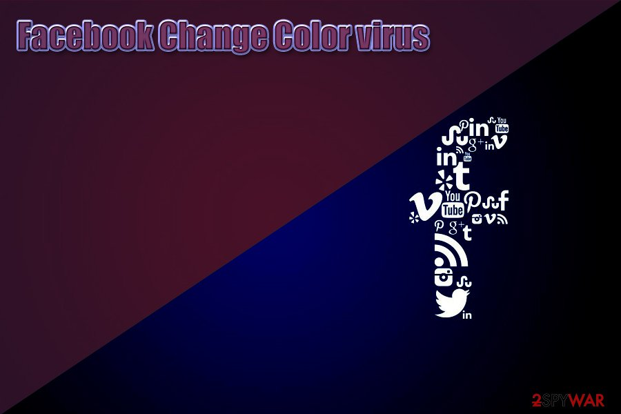 Facebook Change Color virus