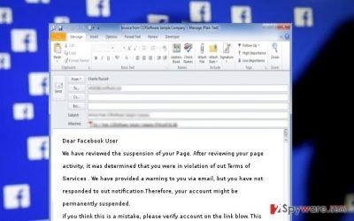 Facebook Suspension Alert