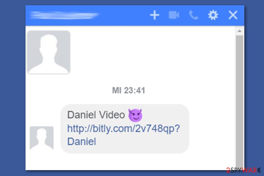 Facebook video virus automatically sends infectious links to victim's friends