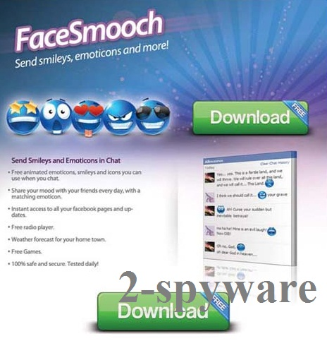 FaceSmooch virus snapshot