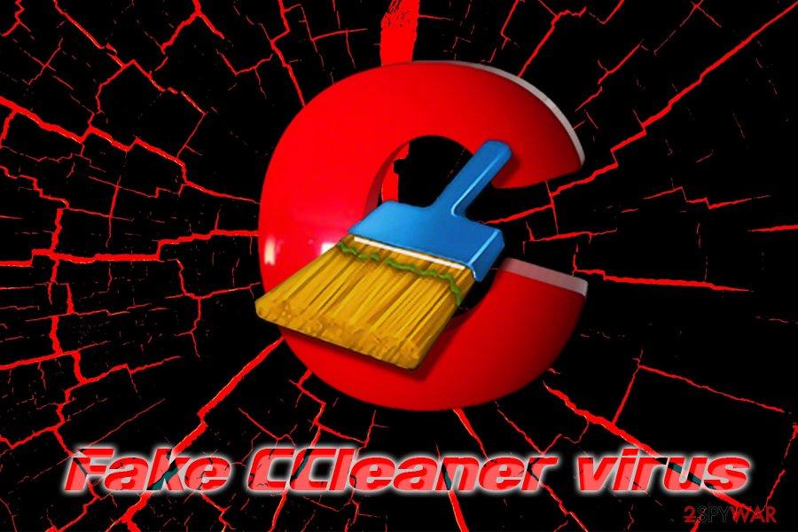 Fake CCleaner virus