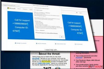 """""""Windows Firewall Security Alert"""" tech-support-scam"""