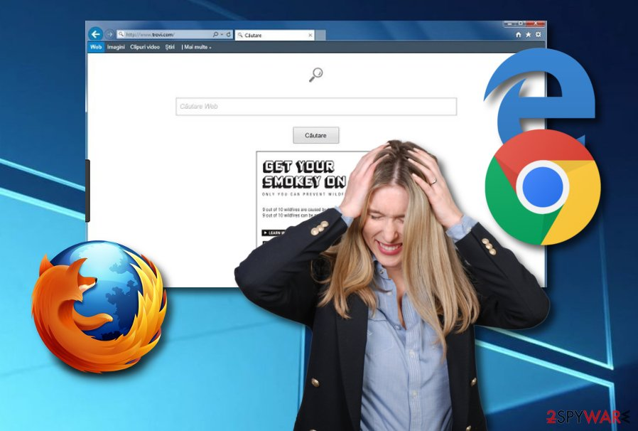 Falco browser hijacker