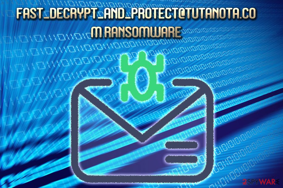Fast_Decrypt_and_Protect@Tutanota.com virus spreads via spam emails