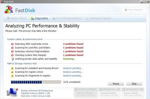 Fast Disk