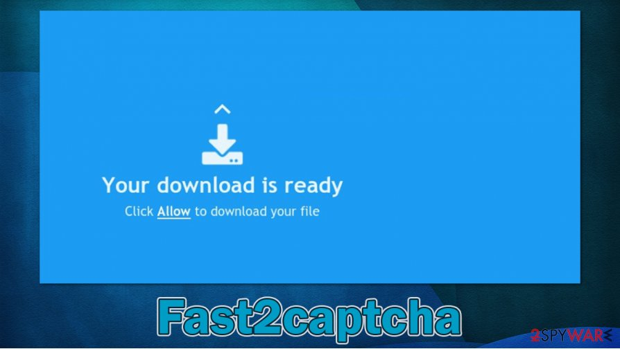 Fast2captcha notifications