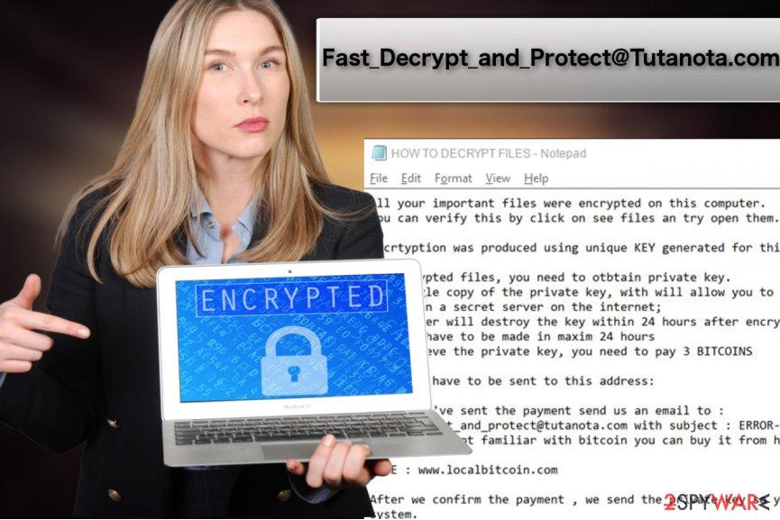 Fast_Decrypt_and_Protect@Tutanota.com ransomware virus