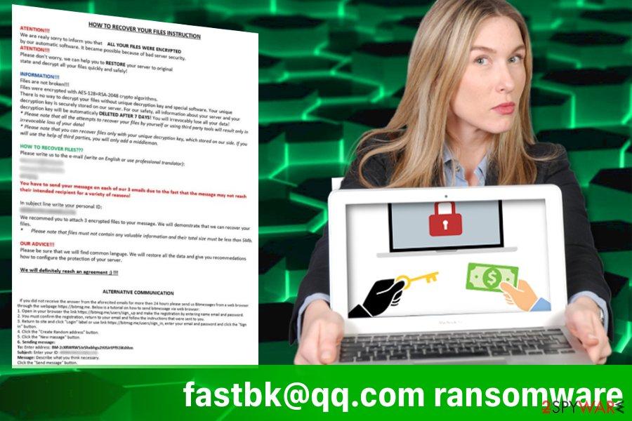fastbk@qq.com ransomware