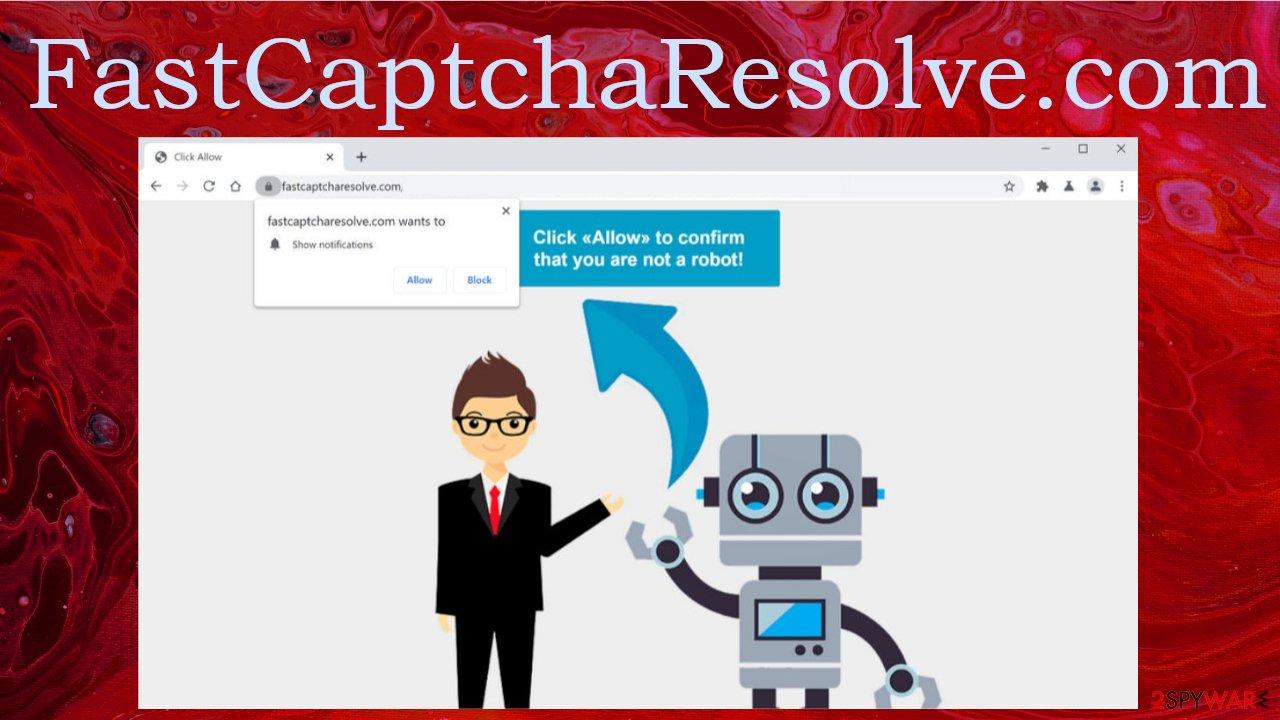 FastCaptchaResolve.com pop-up