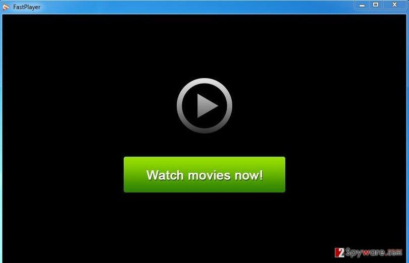 FastPlayer adware snapshot