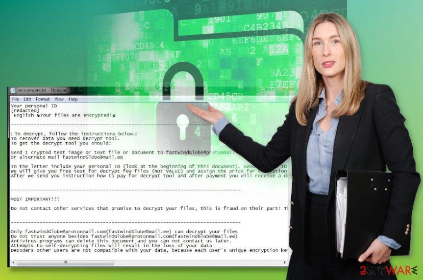 FastWind ransomware virus