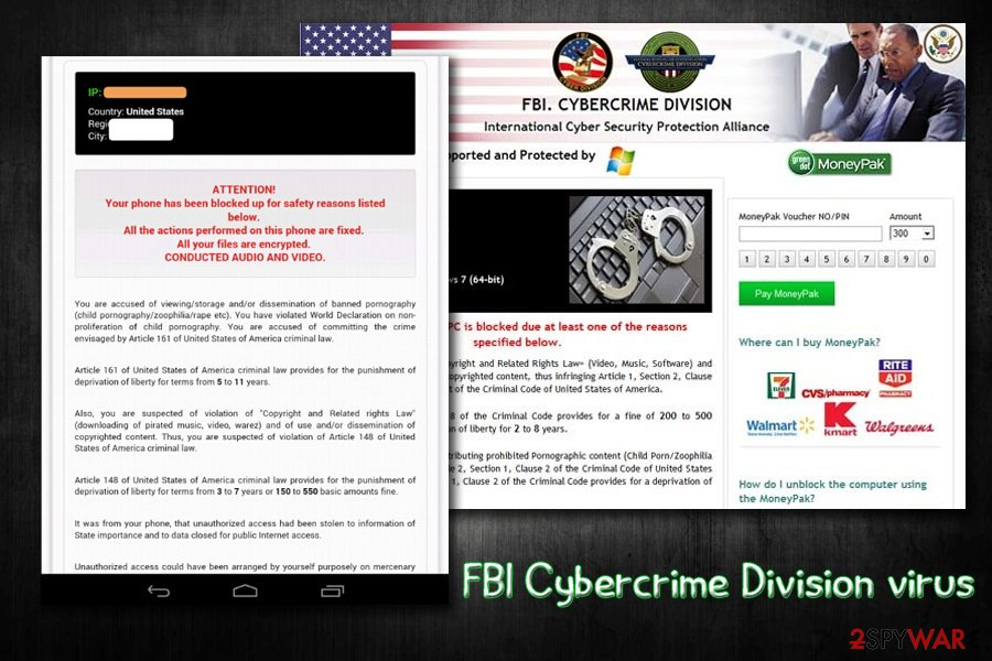 Fbi Virus  11 versions listed  Removal guide included  2019